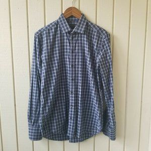 Rag & Bone Long Sleeve Plaid Button Down 15.5